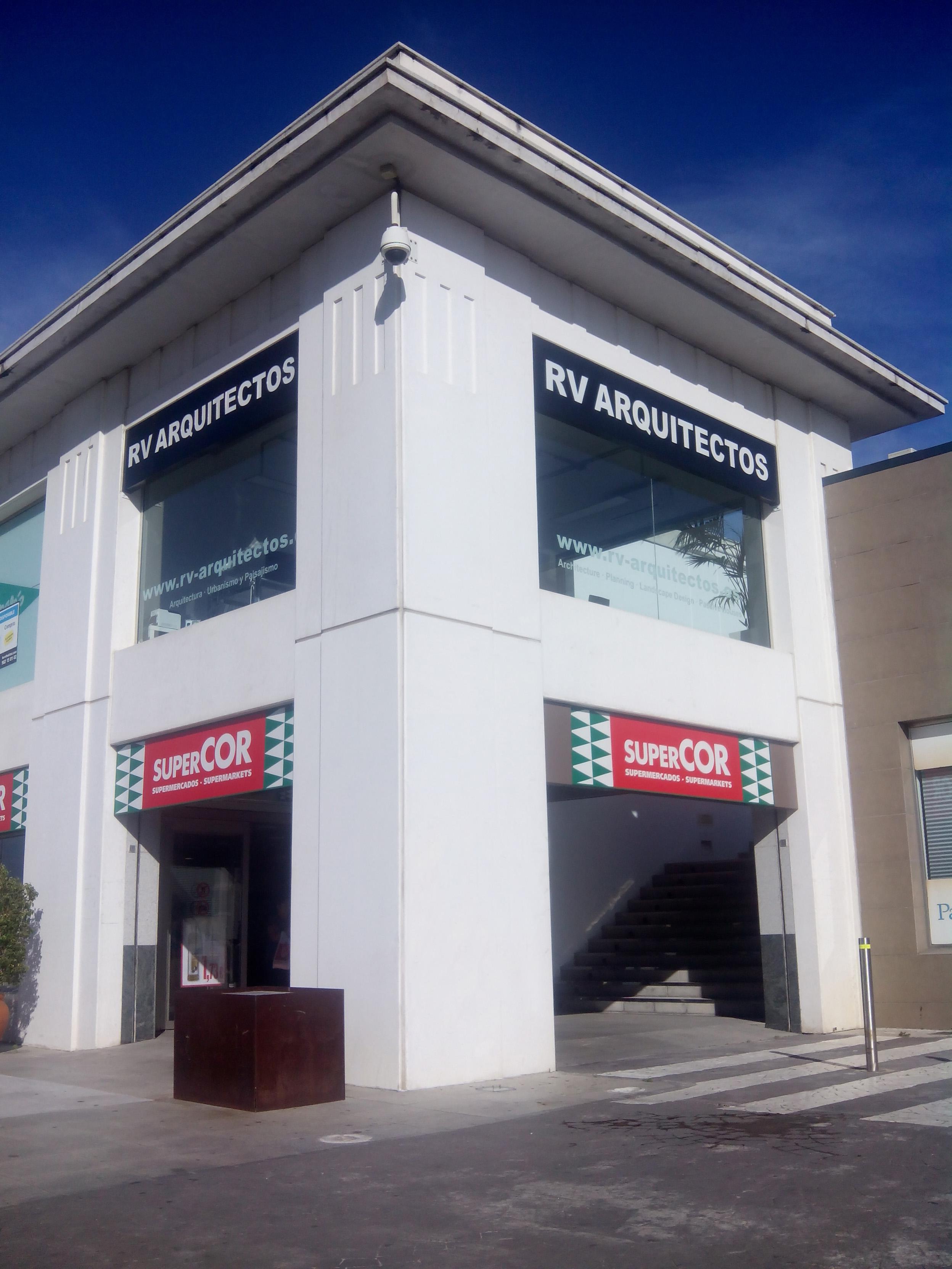 Opening new office RV-Arquitectos!