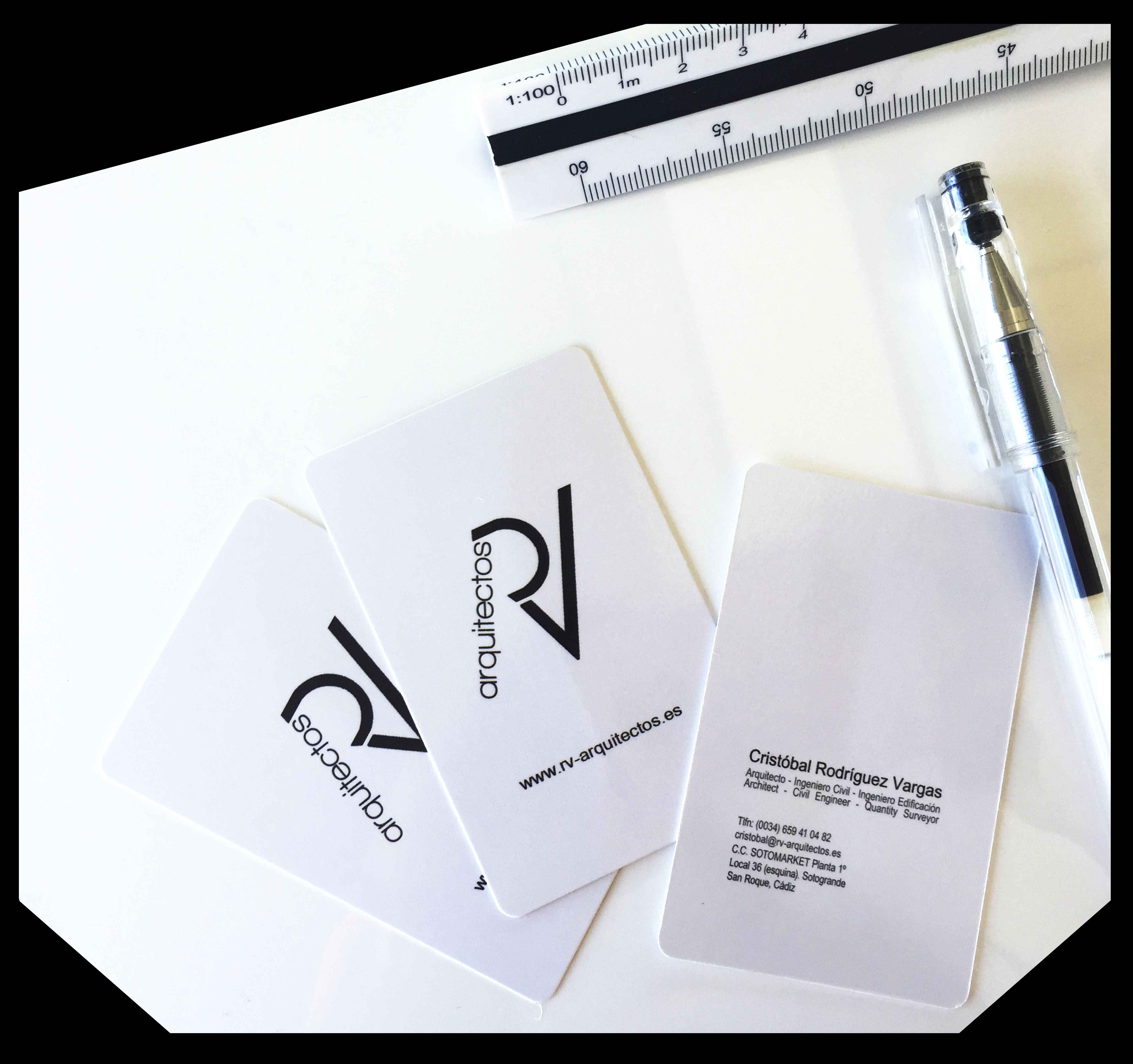 RV ARCHITECTS Business Cards